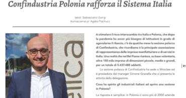 Wywiad z Prezesem Stowarzyszenia Confindustria Polonia