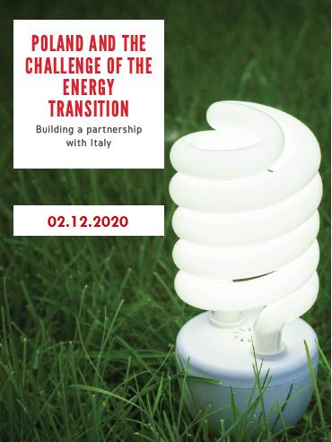 Poland and the challenge of the energy transition – ICE E AMBASCIATA D'ITALIA A VARSAVIA – 02/12/2020
