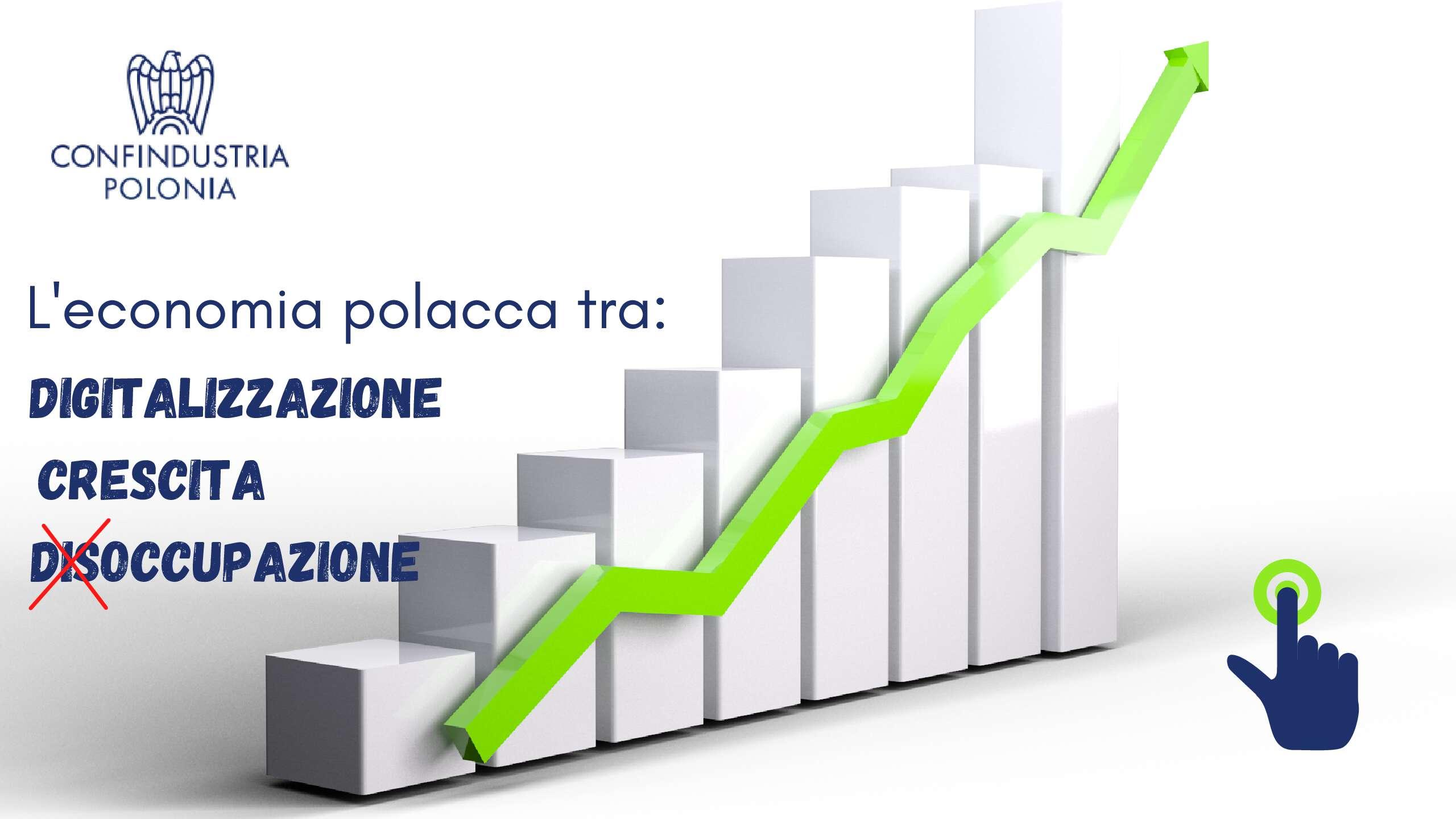 Trend polskiej gospodarki, pomiędzy cyfryzacją, wzrostem i bezrobociem (trend spadkowy)