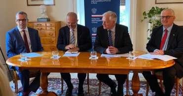 Visita del Vice primo ministro polacco Jarosław Gowin a Roma