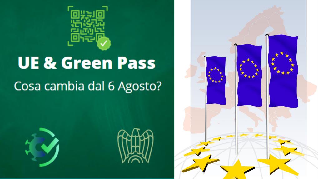 GREEN PASS – Cosa cambia dal 6 Agosto?